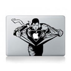 "SUPERMAN Vinyl Decal Sticker Skin for Apple MacBook Pro Unibody Mac Air 14"" 15"""