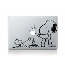 "Snoppy Camping  Vinyl Decal Sticker Skin for Apple MacBook Pro Unibody Mac Air 13""14"" 15"""