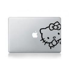 "Hello kitty Vinyl Decal Sticker Skin for Apple MacBook Pro Unibody Mac Air 13""14"" 15"""