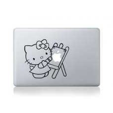 "Hello Kitty 2  Vinyl Decal Sticker Skin for Apple MacBook Pro Unibody Mac Air 13""14"" 15"" IPAD"